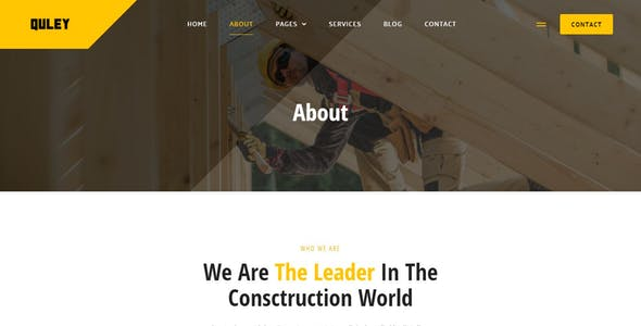 Quley - Construction & Engineering Elementor Template Kit