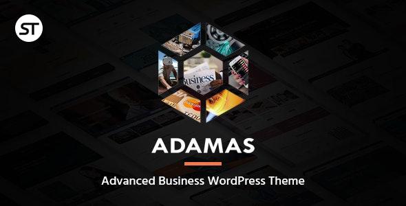 Adamas - Advanced Business WordPress Theme - Business Corporate