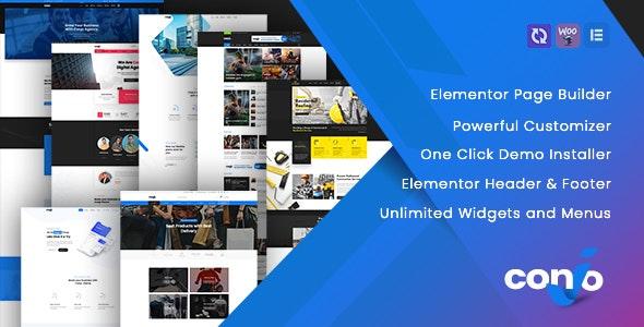 Conjo – MultiPurpose WordPress Theme - Business Corporate