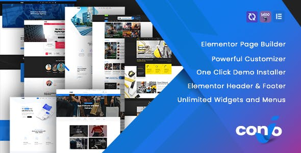 Conjo – MultiPurpose WordPress Theme
