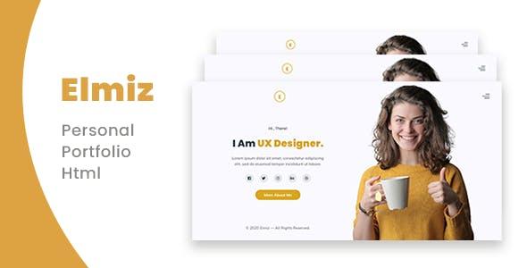 Elmiz - Personal Portfolio Template