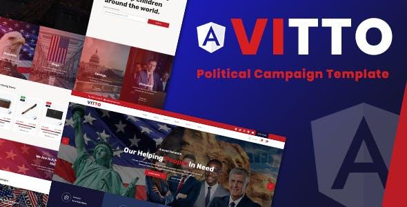 Vitto | Voting Election Angular Template
