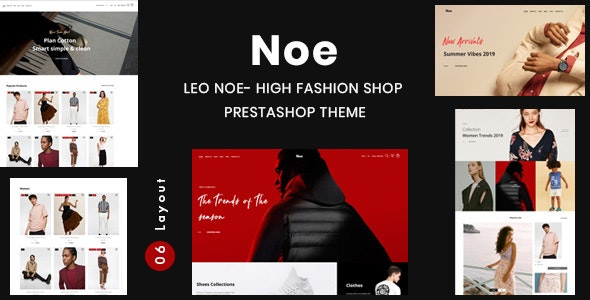 Leo Noe - High Fashion Shop Prestashop Theme - Fashion PrestaShop