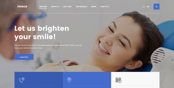 Hosco - Dentist & Medical Sketch Template