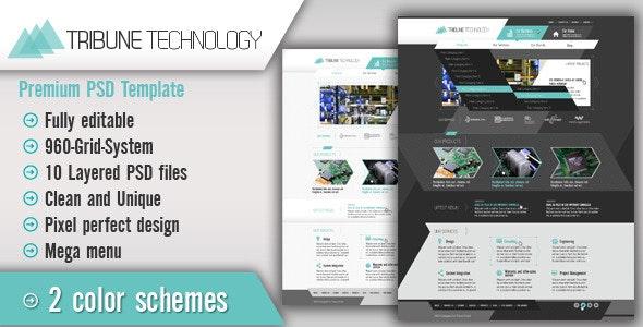 Tribune Technology - Technology Photoshop