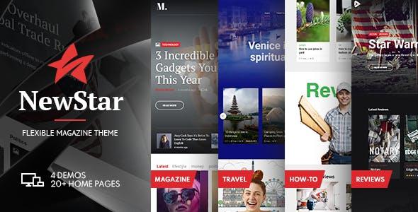 NewStar - Magazine & News WordPress Theme