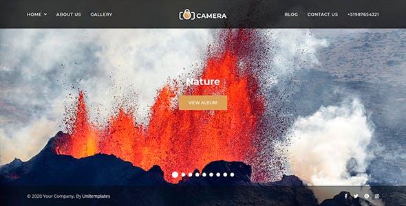 Camera - Photography and Portfolio Joomla Template