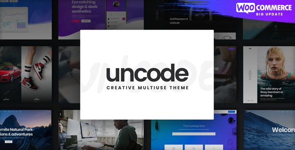 Uncode - Creative Multiuse & WooCommerce WordPress Theme - Creative WordPress
