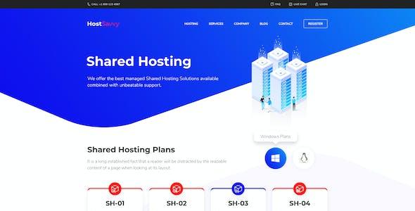 HostSavvy - Web Hosting and WHMCS PSD