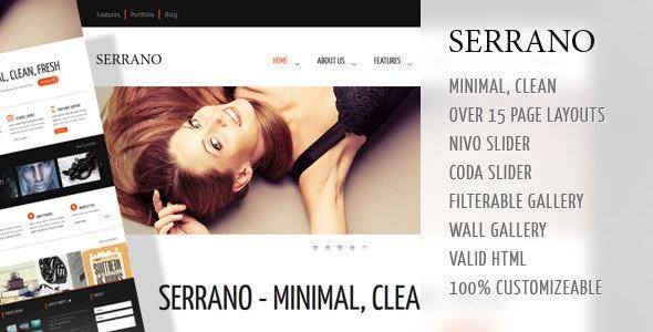 Serrano - Creative Business HTML Theme - Creative Site Templates