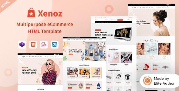 Xenoz - Multipurpose eCommerce HTML Template - Shopping Retail