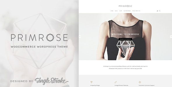 Primrose - Minimal WooCommerce Theme - WooCommerce eCommerce