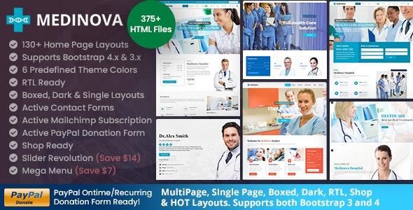 Medinova - Medical Health - Health & Beauty Retail