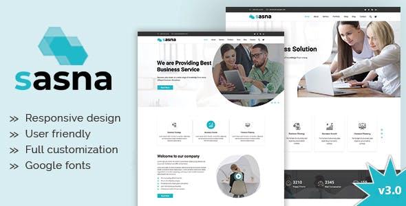 Sasna - Multipurpose Business Joomla Template
