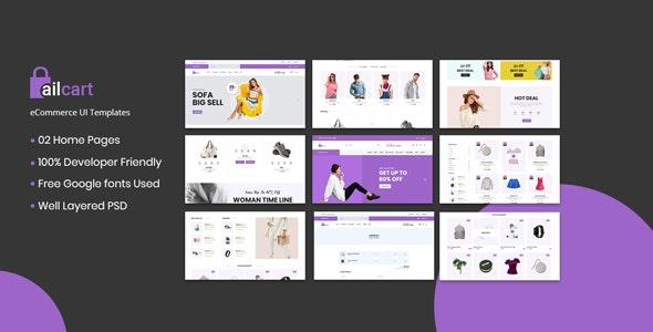 Ailcart - eCommerce UI Template - UI Templates