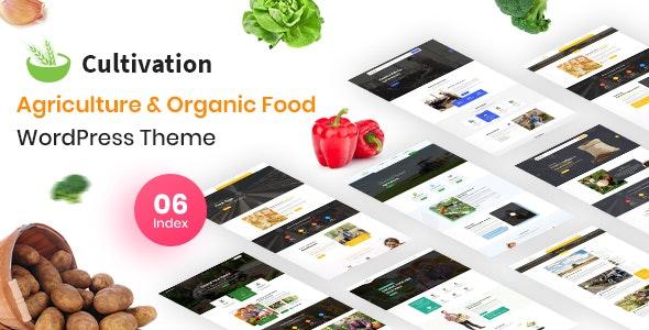 Cultivation - Organic Food Farming WordPress Theme - WordPress