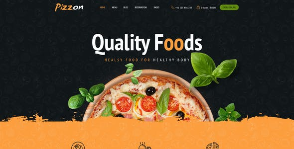 Pizzon | Pizza Restaurant HTML Template