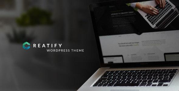 Creatify - Multipurpose Business Theme - Marketing Corporate