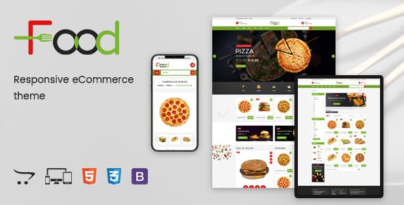 Food - Responsive OpenCart Theme