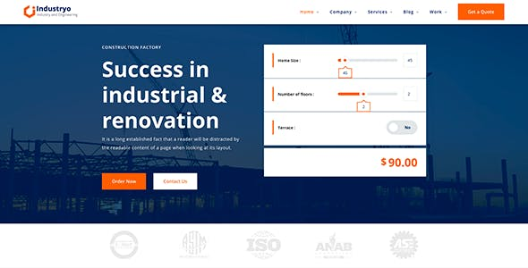 Industryo - Construction