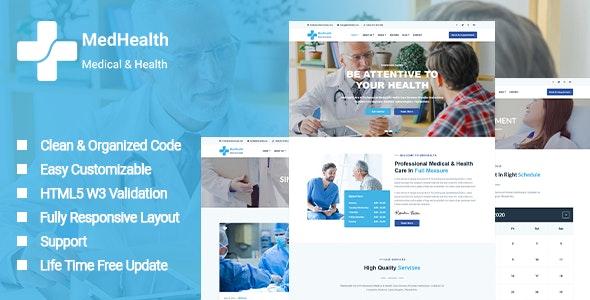MedHealth - Medical & Health Template - Health & Beauty Retail