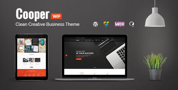 Cooper - Clean Creative Business Theme - Business Corporate