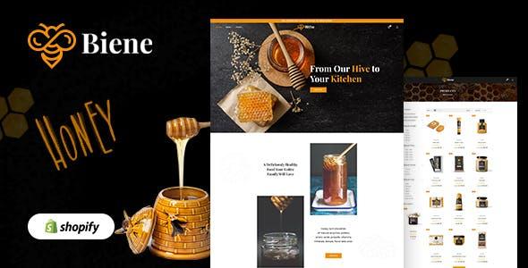 Biene - Honey Shop, Organic Food Shopify Theme