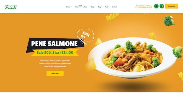 Poco - Fast Food Restaurant WordPress Theme