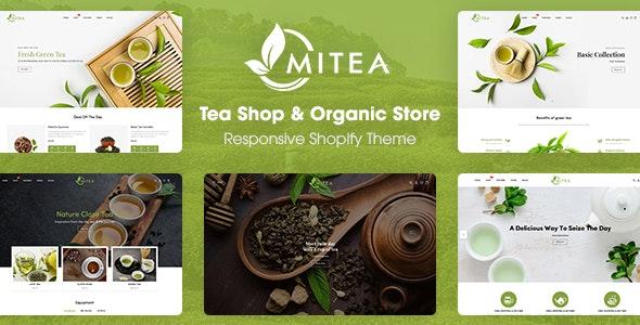 Mitea - Tea Shop & Organic Store Responsive Shopify Theme - Shopify eCommerce