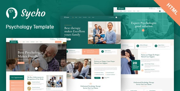 Sycho - Psychology & Counseling HTML5 Template - Health & Beauty Retail
