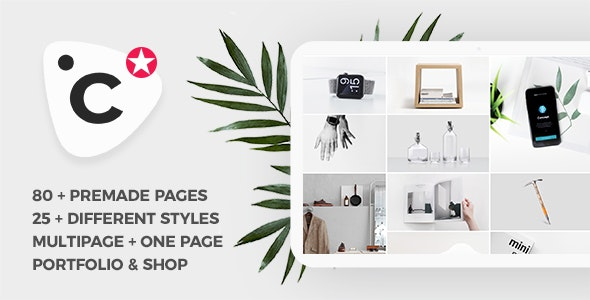 Concept - Creative and Business, Multipurpose Template - Creative Site Templates
