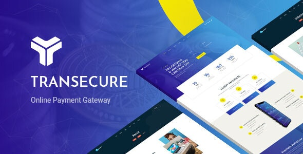 Transecure - Online Payment Gateway WordPress Theme - Business Corporate