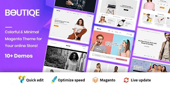 Boutique Magento 2 Theme | RTL Supported - Fashion Magento