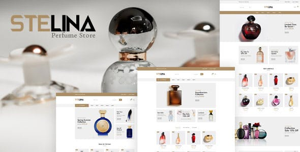 Stelina - Perfume Store HTML Template