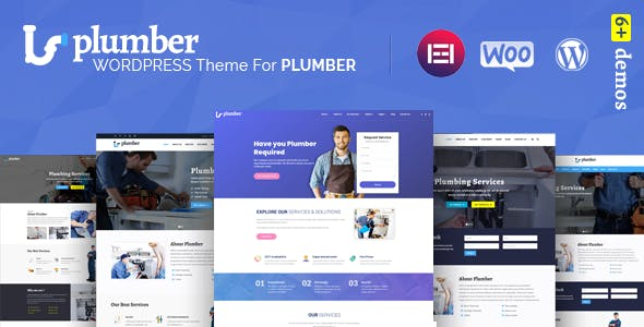 Plumber Pro - WordPress Theme for Construction & Repairing Services