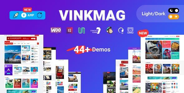 Vinkmag - AMP Newspaper Magazine WordPress Theme