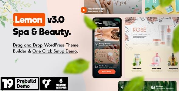 Lemon | Spa & Beauty Responsive Multi-Purpose WordPress Theme