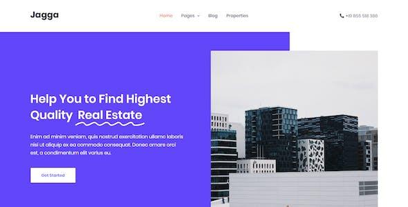 Jagga – Real Estate HTML Template