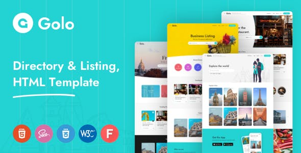 Golo - Directory & Listing HTML Template