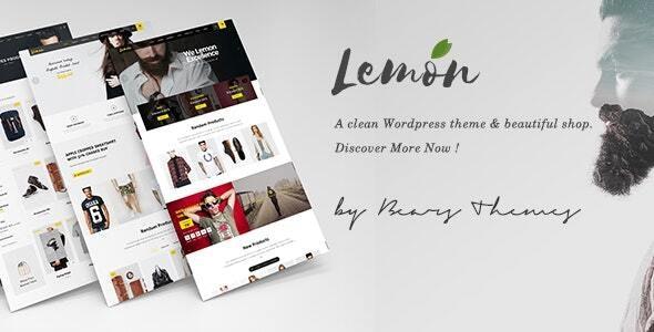 Lemon | A Clean and Smooth WooCommerce WordPress Theme - WooCommerce eCommerce