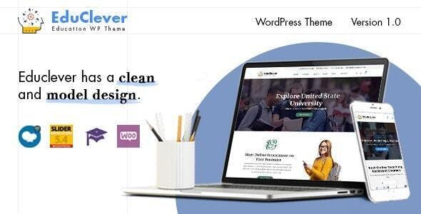 Educlever - Education WordPress Themes - Education WordPress