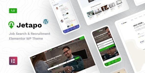 Jetapo | Jobboard WordPress Theme - Directory & Listings Corporate