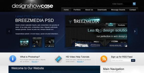 DesignshowCase - Portfolio PSD Template - Portfolio Creative