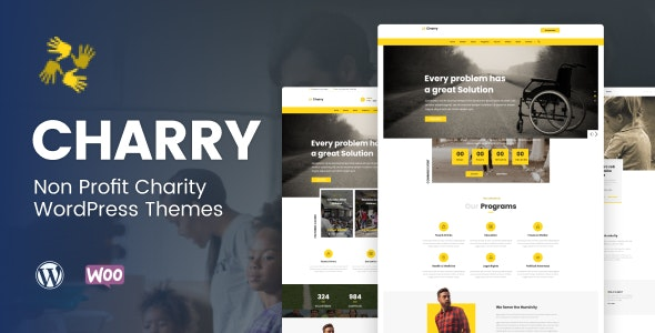 Charry - Non Profit Charity WordPress Themes - Charity Nonprofit