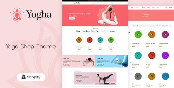 Yogha - Fitness Store, Yoga Shop Shopify Theme - Health & Beauty Shopify