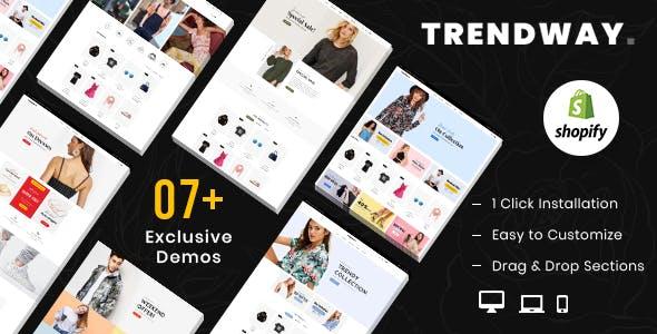 Trendway – Fashion Shopify MultiPurpose Responsive Theme