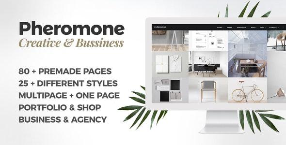 Pheromone - Responsive Multi-Concept Template - Creative Site Templates