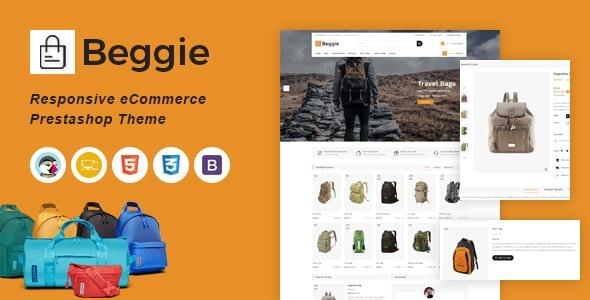 Beggie Responsive Prestashop Theme - Fashion PrestaShop