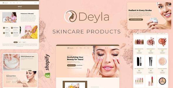 Deyla - Spa, Cosmetic eCommerce Shopify Theme - Shopify eCommerce
