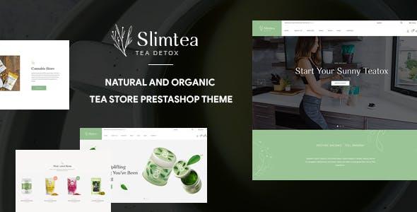 Leo Slimtea - Natural And Organic Tea Store Pretashop Theme